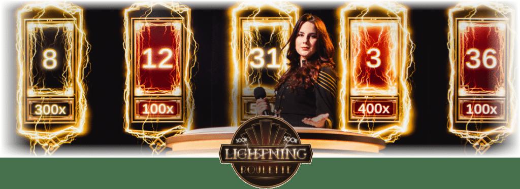 Lightning Roulette - elektryzująca ruletka na żywo