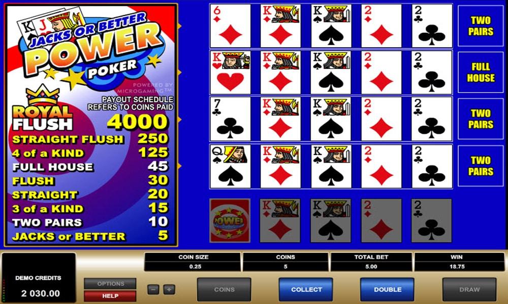Wideopoker - połączenie pokera i jednorękiego bandyty