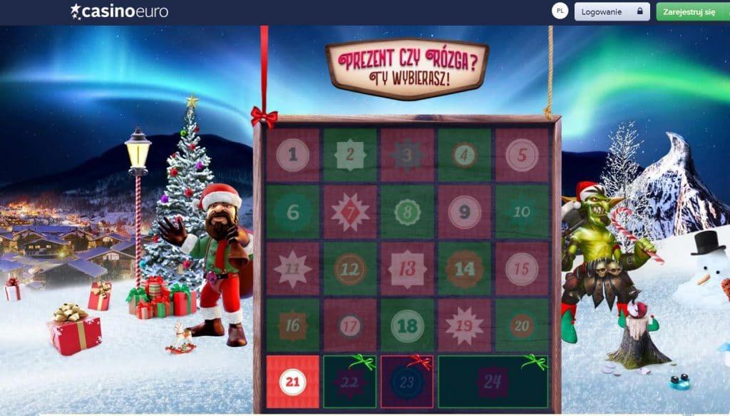 Ostatni dni świątecznych prezentów w CasinoEuro