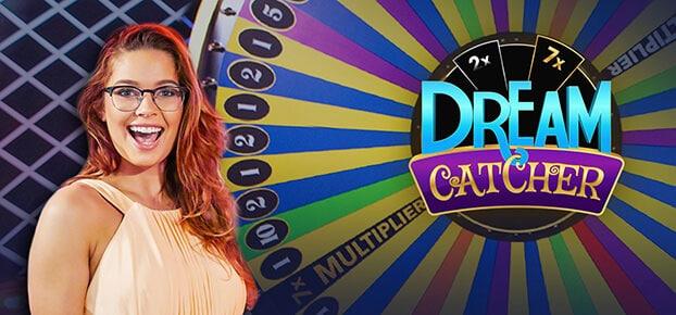 Dream Catcher - Koło fortuny w kasynie na żywo